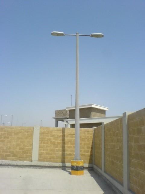Industrial & street lighting poles